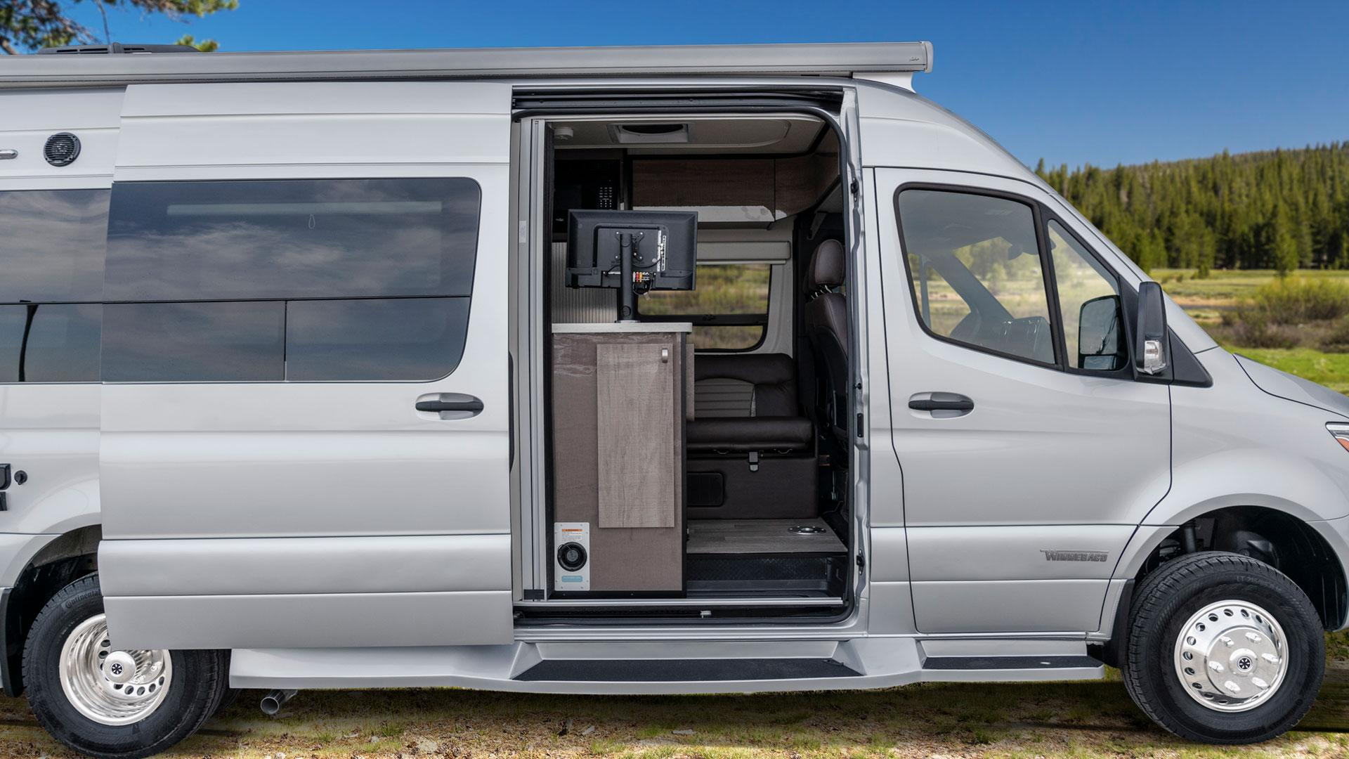 Ford Nugget Camper Van Kitchen Roll Holder Tissue Tube Motor Home Freedom Travel