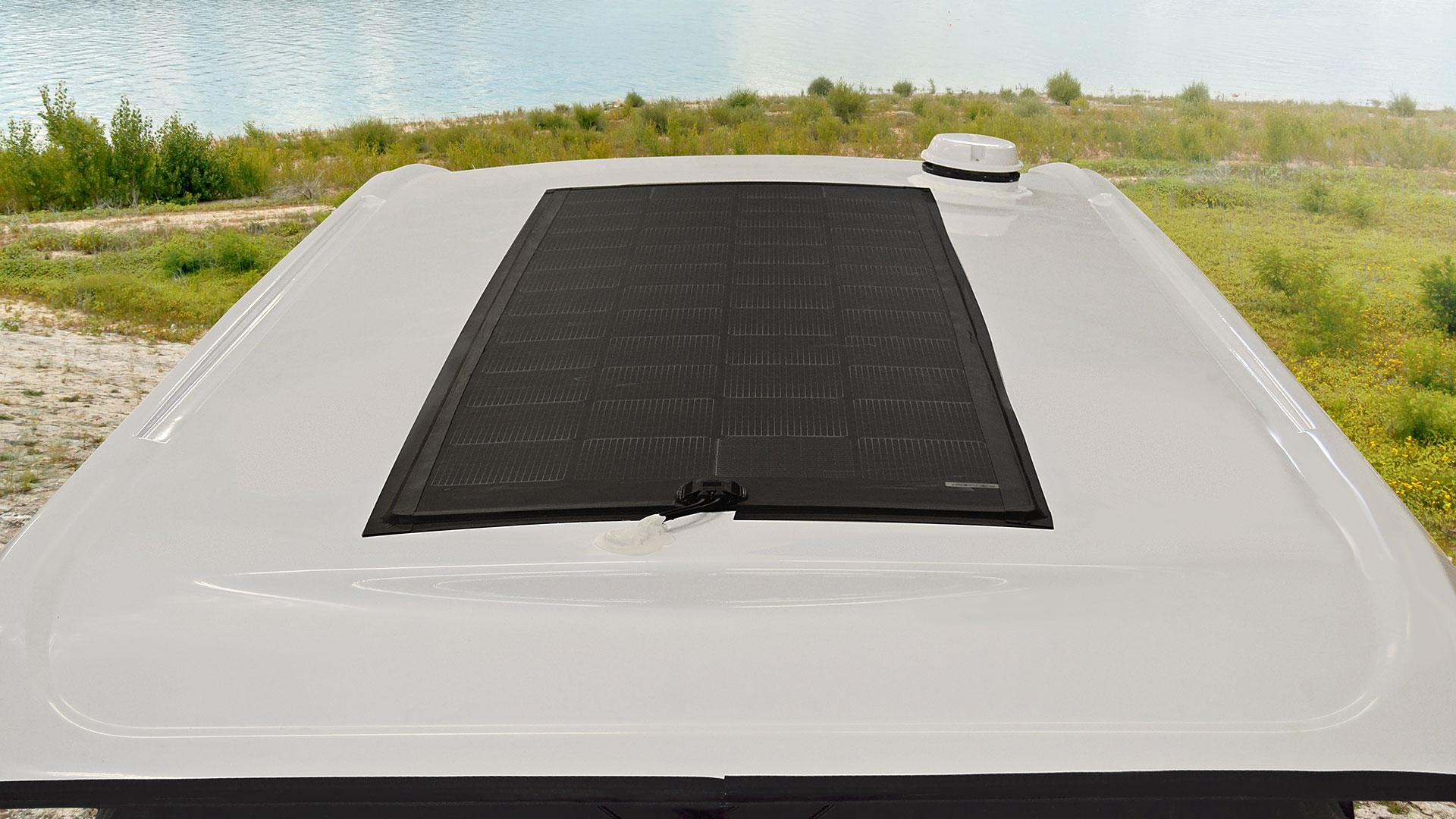 Winnebago Solis flexible roof-top solar panel