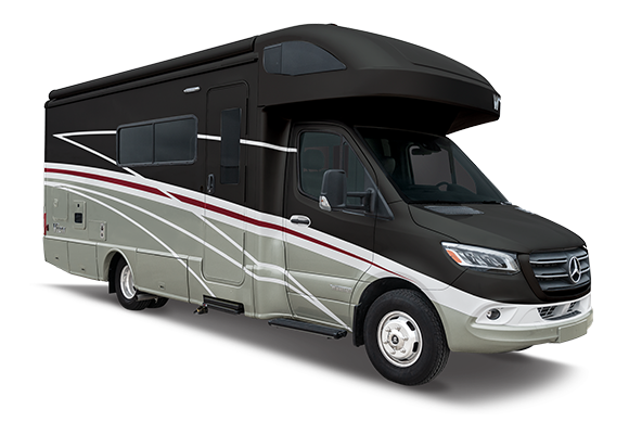 Winnebago View exterior 3/4 side view