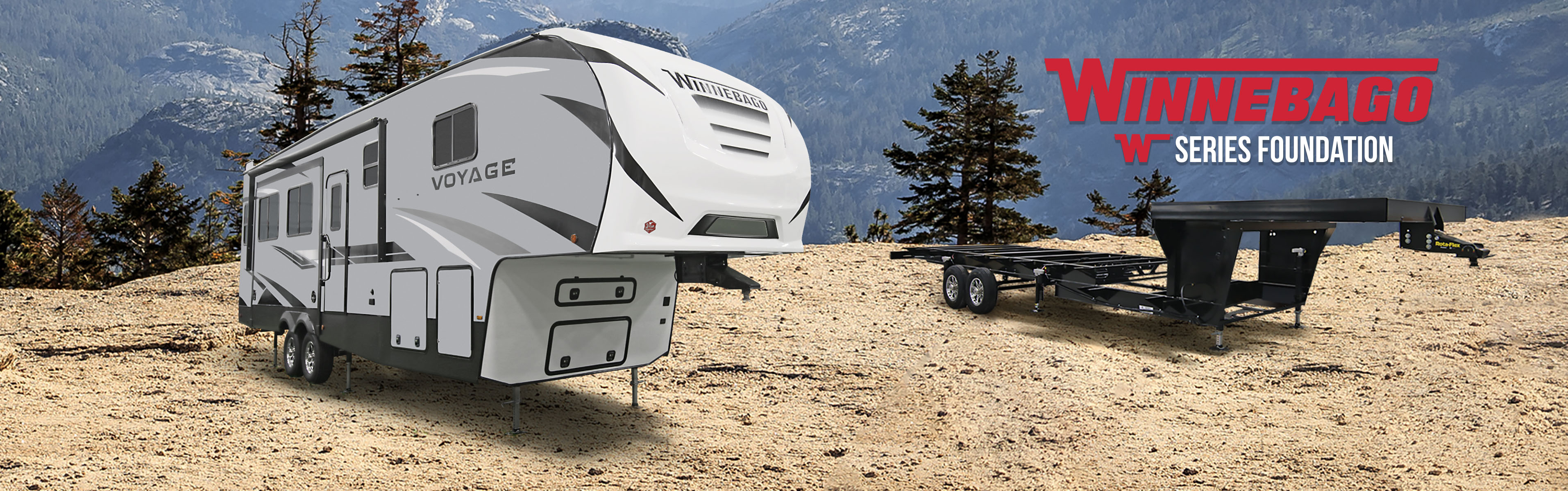 Voyage Fifth Wheel Exterior With W Series Foundation Frame