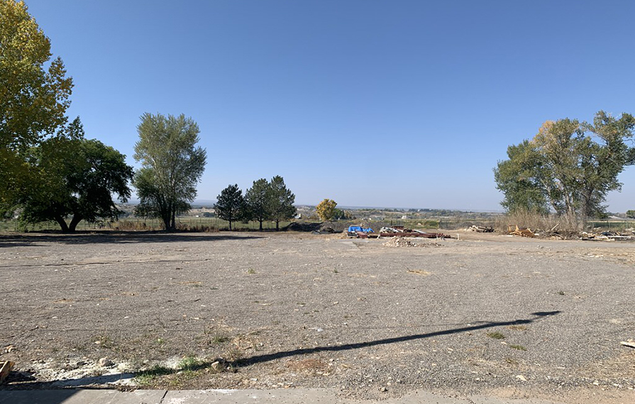 Empty property for potential campground
