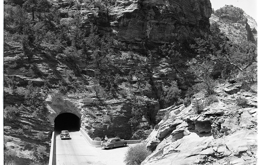 Tunnel in Zion National Park