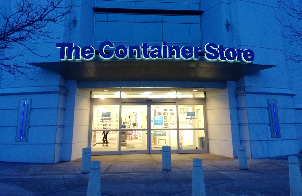 Front of The Container Store.
