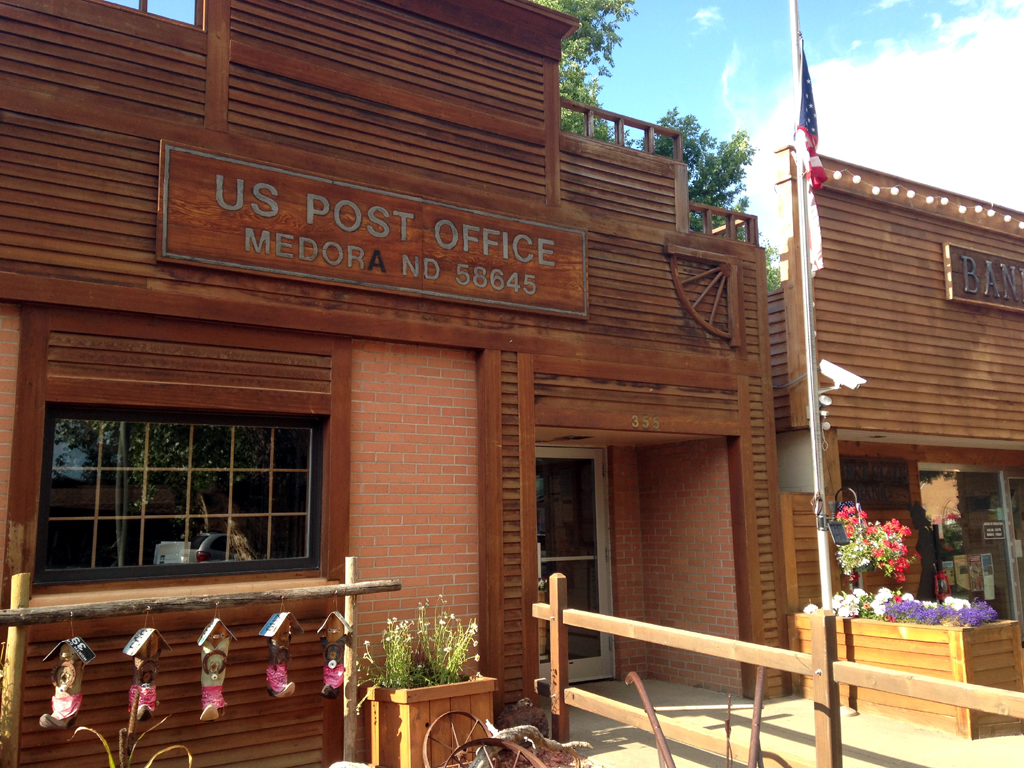 US Post Office in Medora, ND