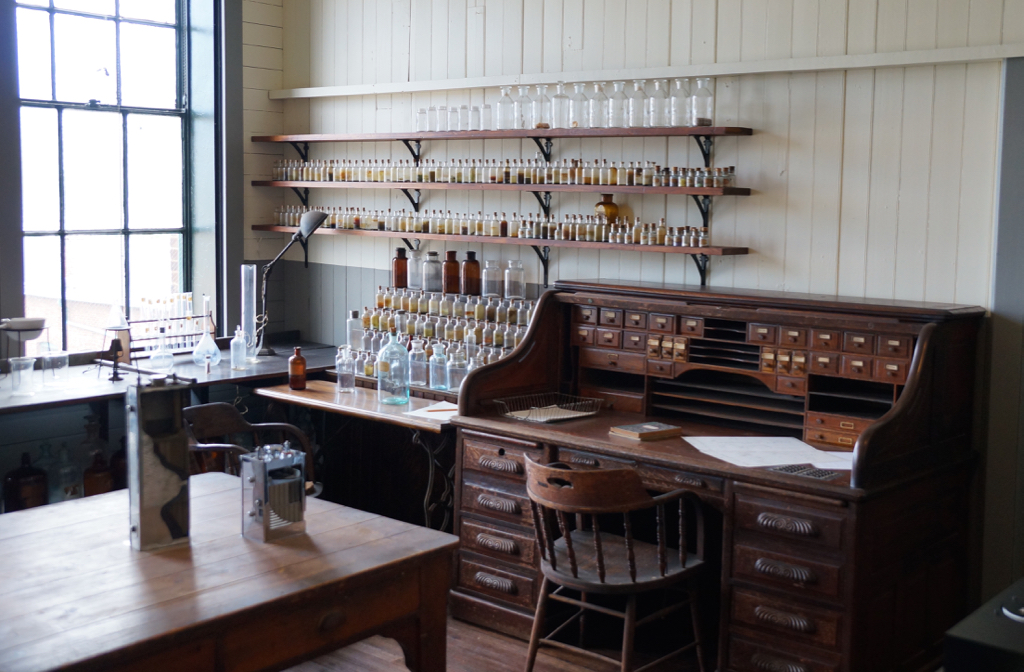 Thomas Edison's office and lab.