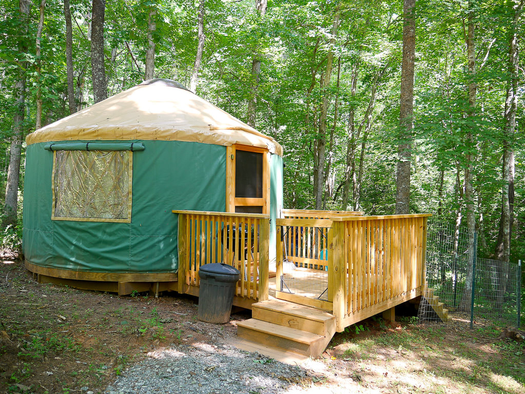 Yurt on the campground