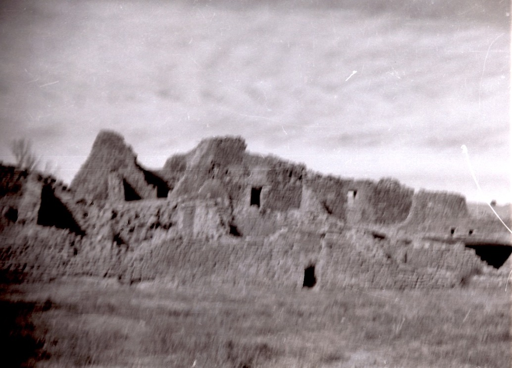 Old photo of ruins.