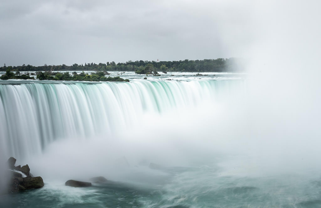 Niagra Falls from the Canadian side